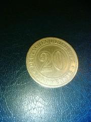 предлагаю монету Кайзеровской Германии 1892 года