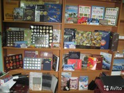 Альбомы,  листы,  монеты,  банкноты в г. Иваново